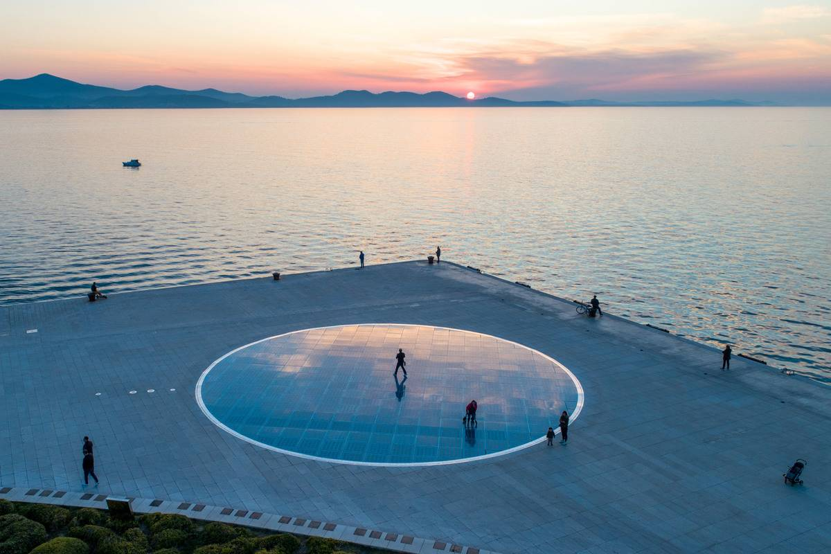 zadar greeting to the sun croatia