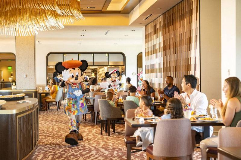 disney world resort restaurant mickey mouse
