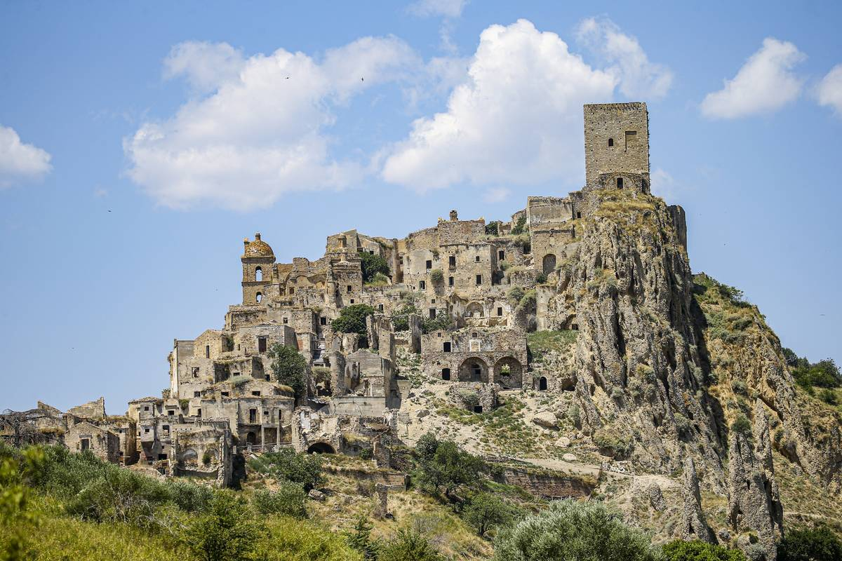 town of craco italy