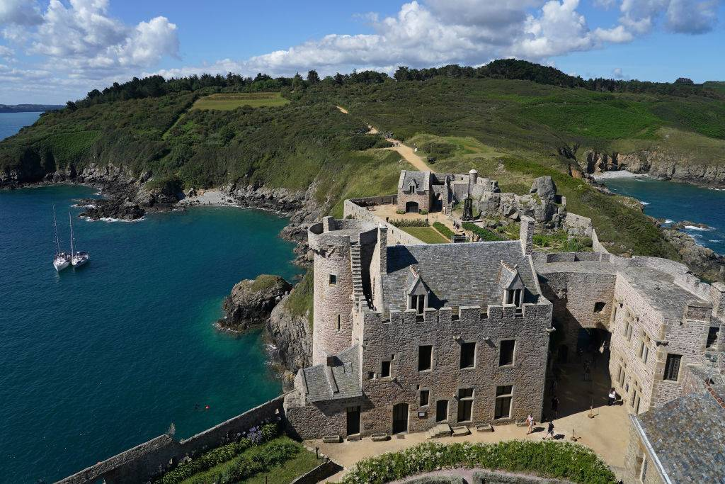 a fort in Brittany, France