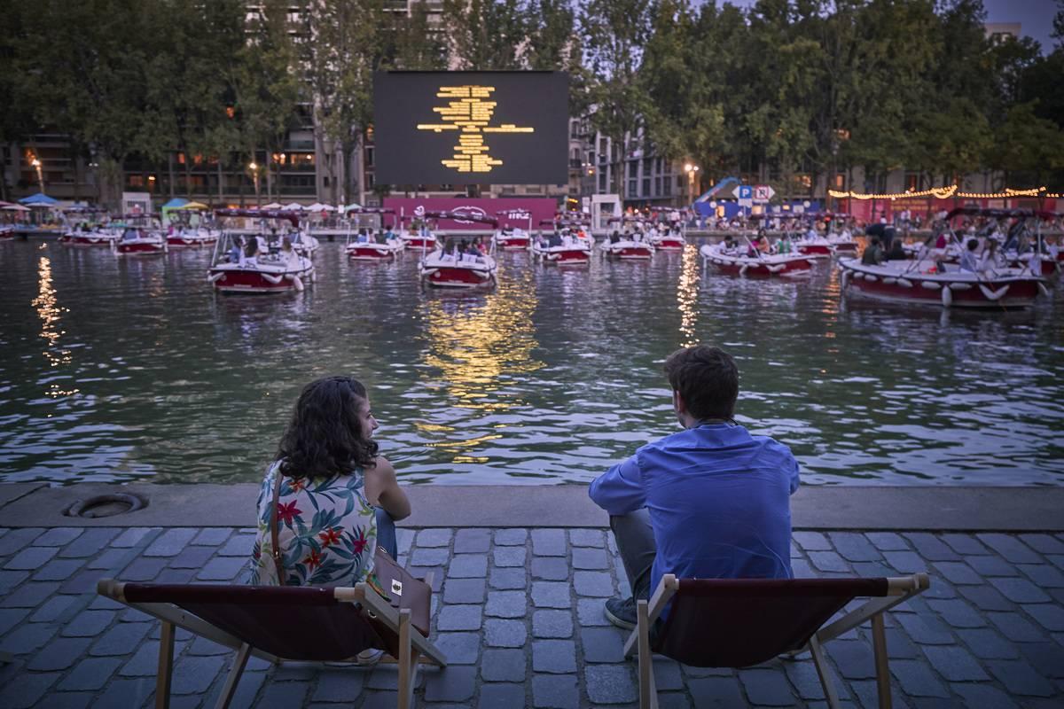 le cinema sur l'eau paris plages july 2020