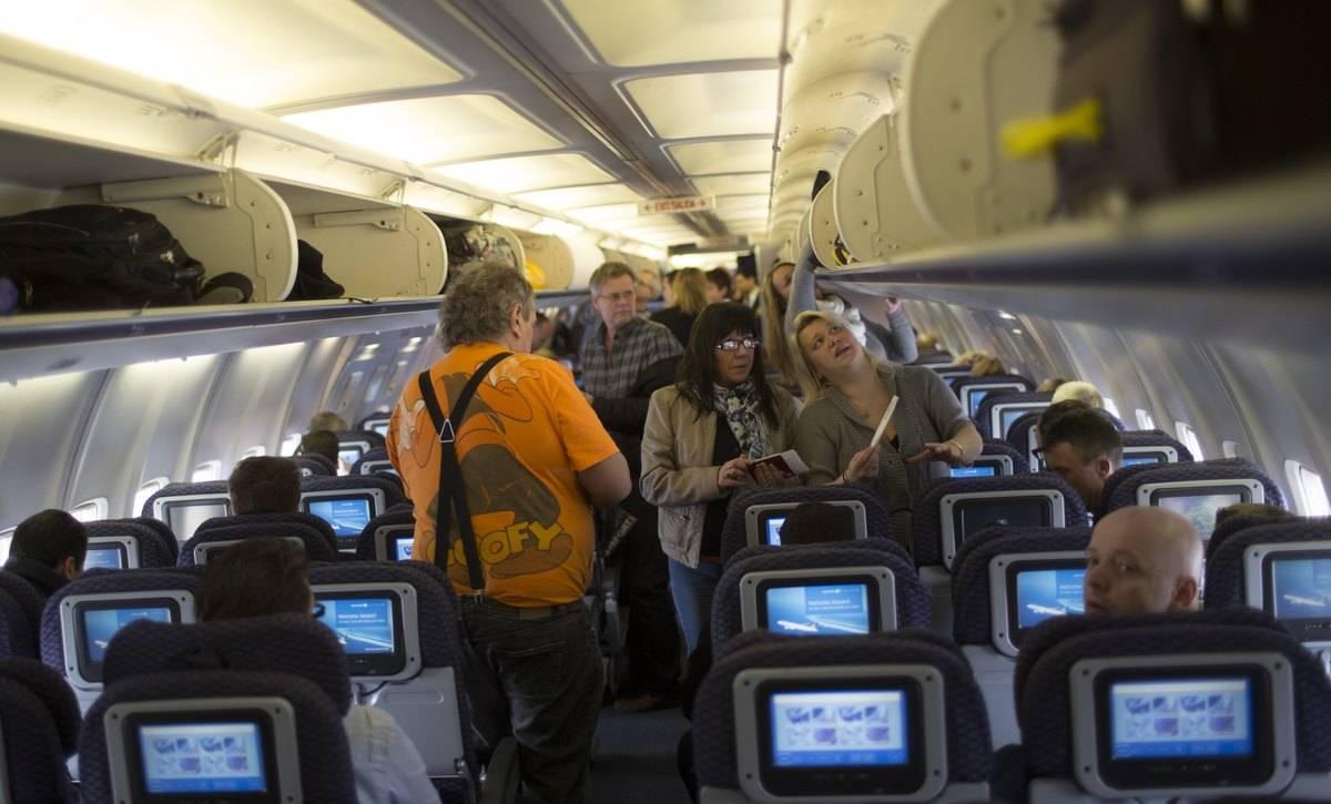 passengers boarding plane in norway
