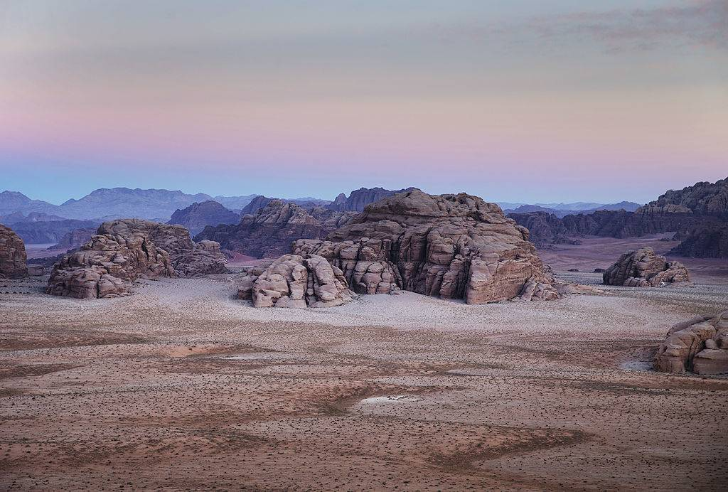 a picture of Wadi Rum