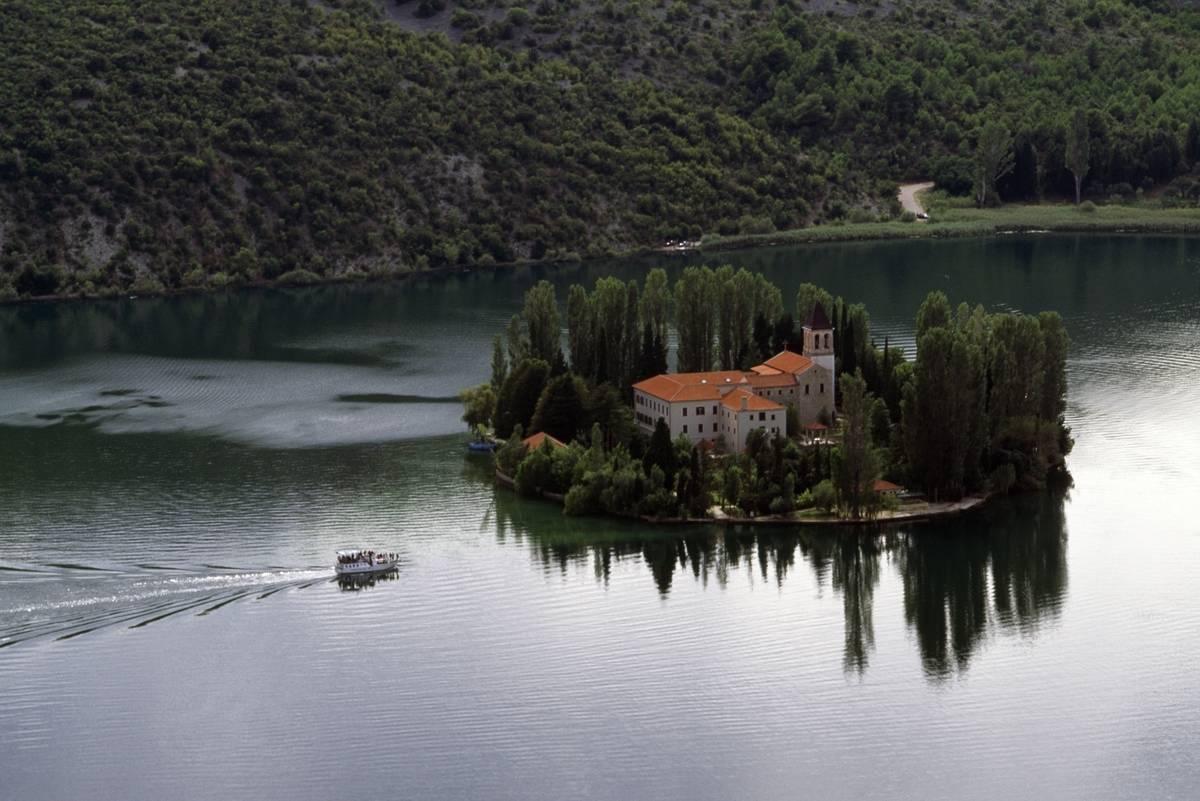 visovac monastery croatia