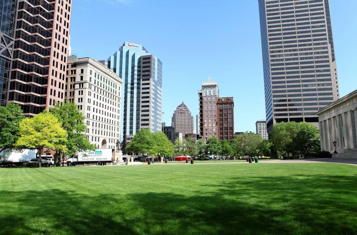 downtown columbus ohio Capitol Square
