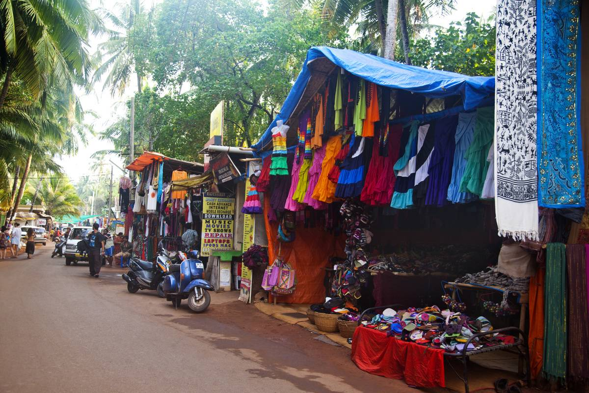 shopping stalls in india
