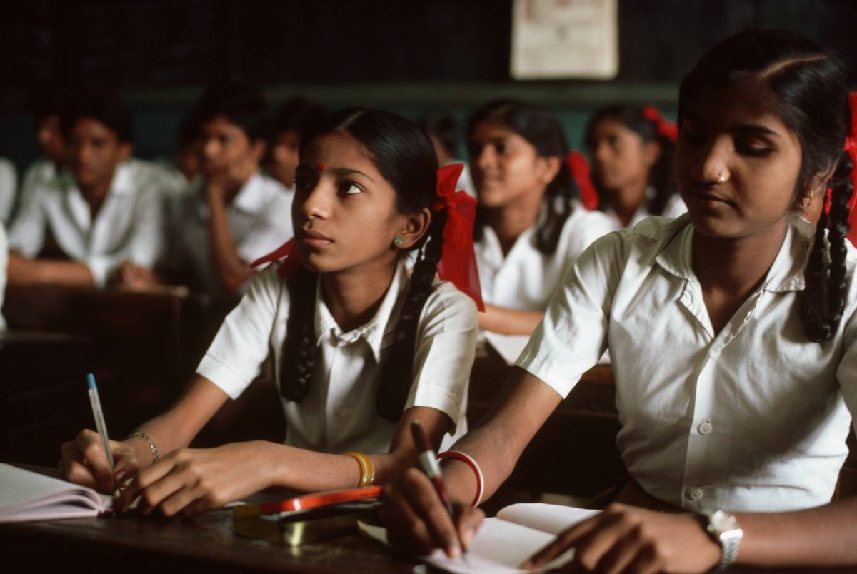 bombay india private high school girls