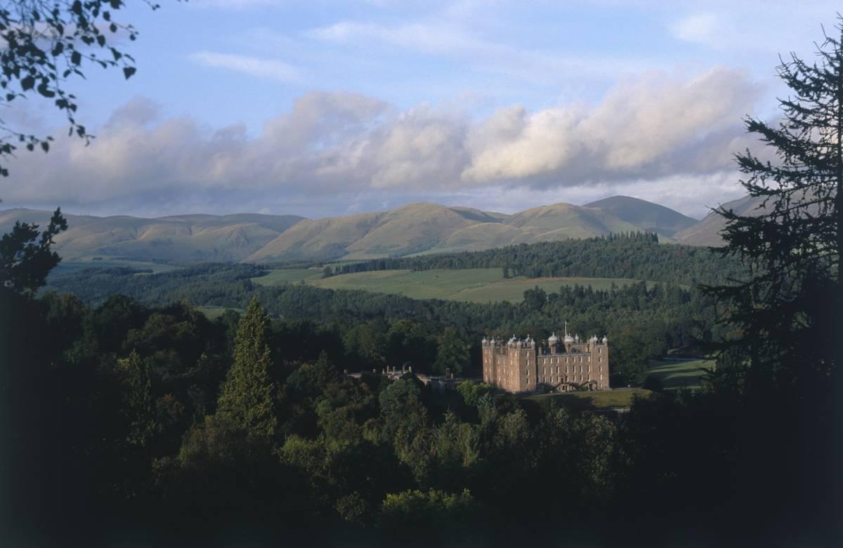 castle in the queensberry estate scotland