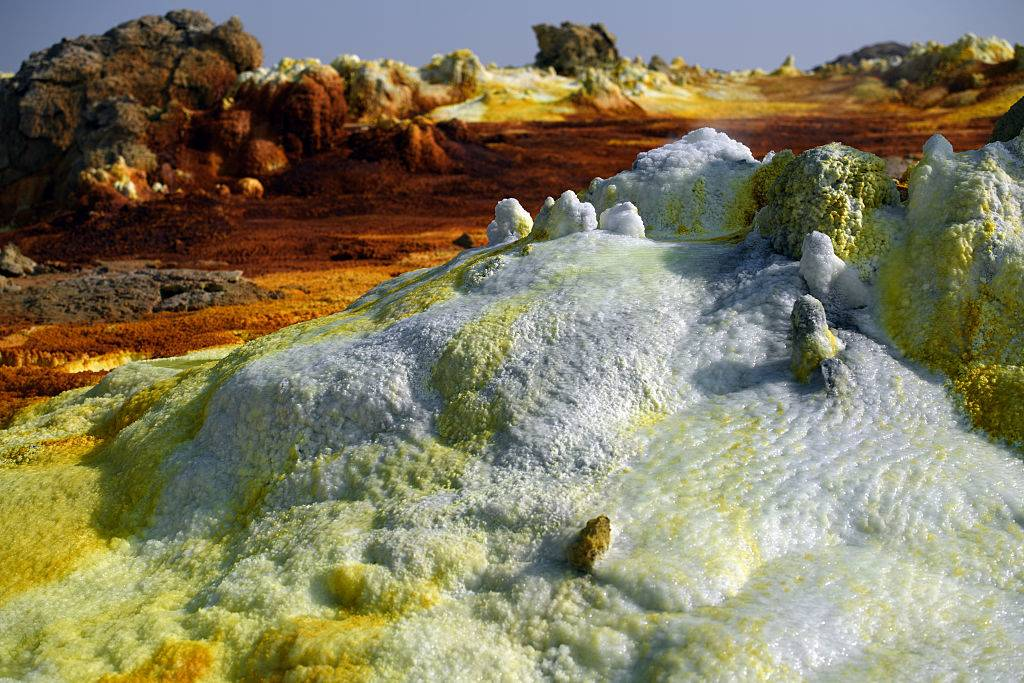 a picture of the Danakil Depression