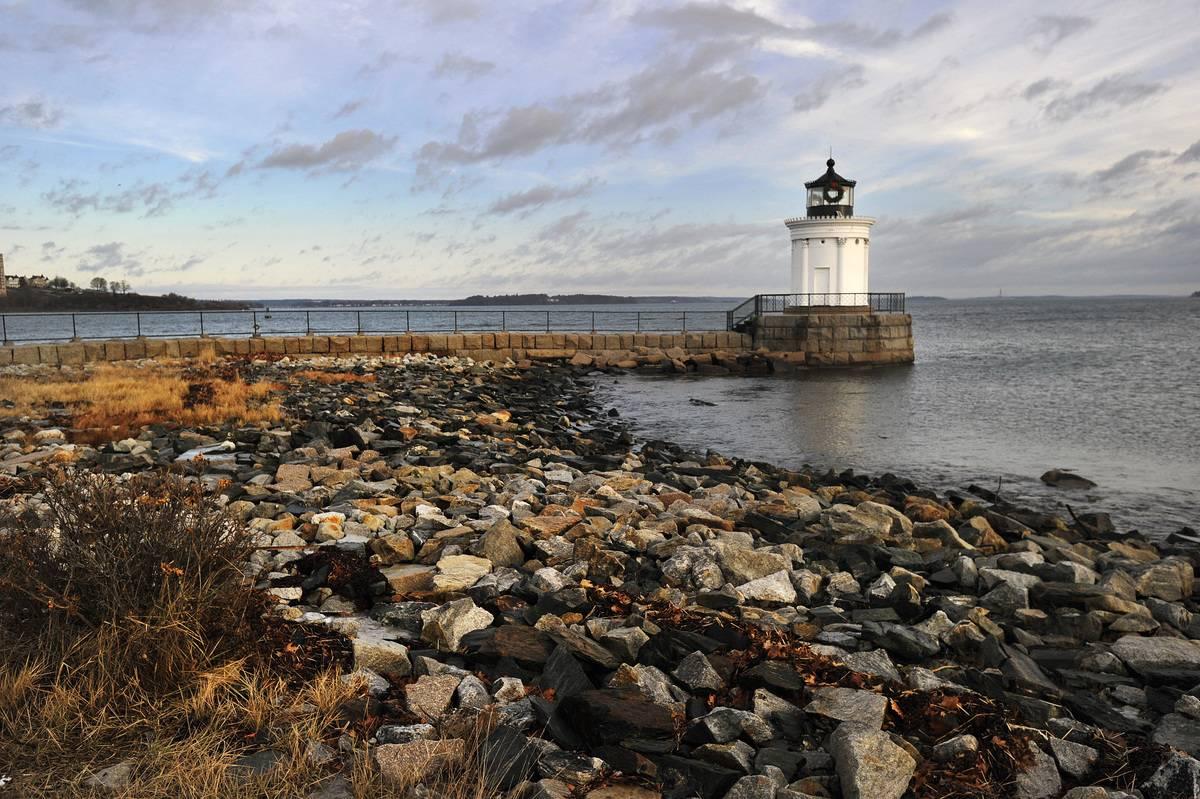 portland maine bug light lighthouse