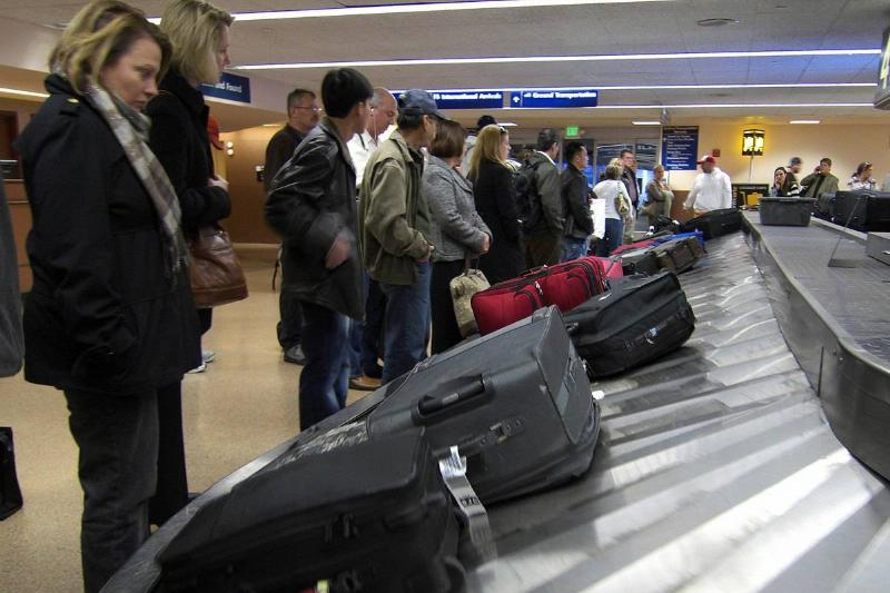 baggage claim in san jose international