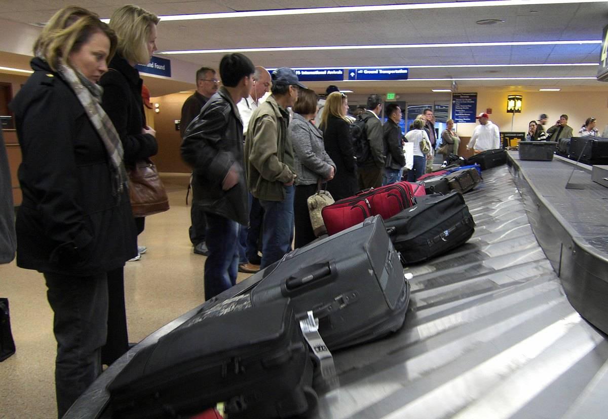 baggage claim in san jose international
