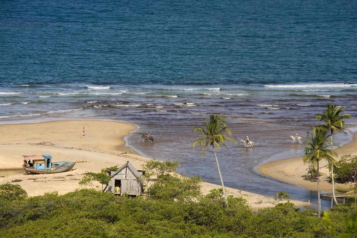 trancoso beach brazil