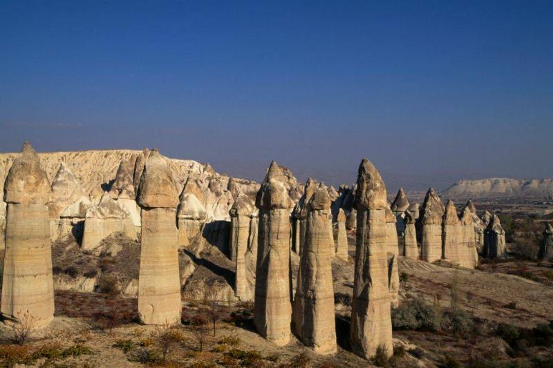 Cappadocia Valley in Turkey