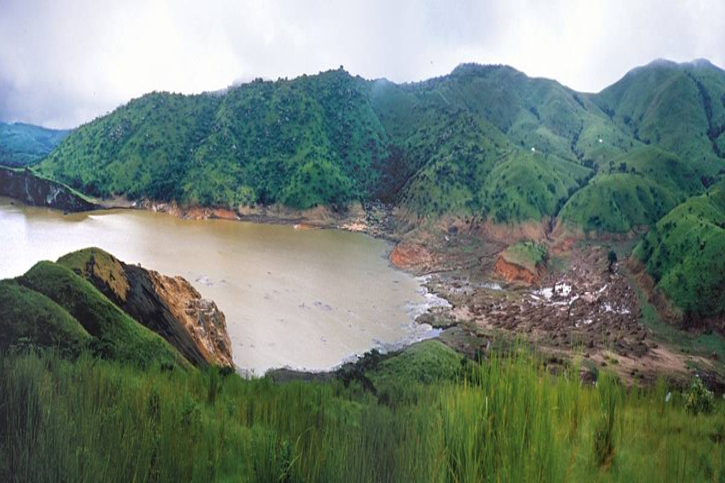 Lake Nyos in Cameroon