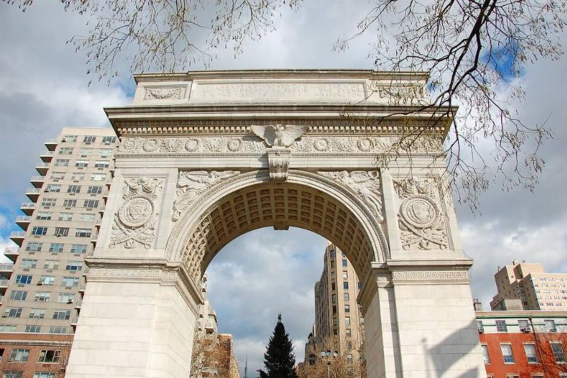 Washington Arch in New York