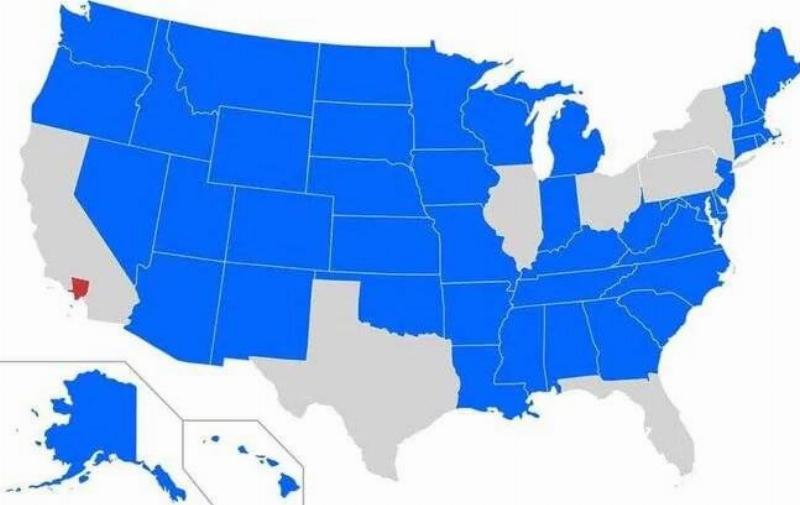 Majority Of The US Has A Smaller Population Than LA County