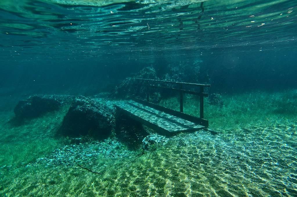 bridge underwater