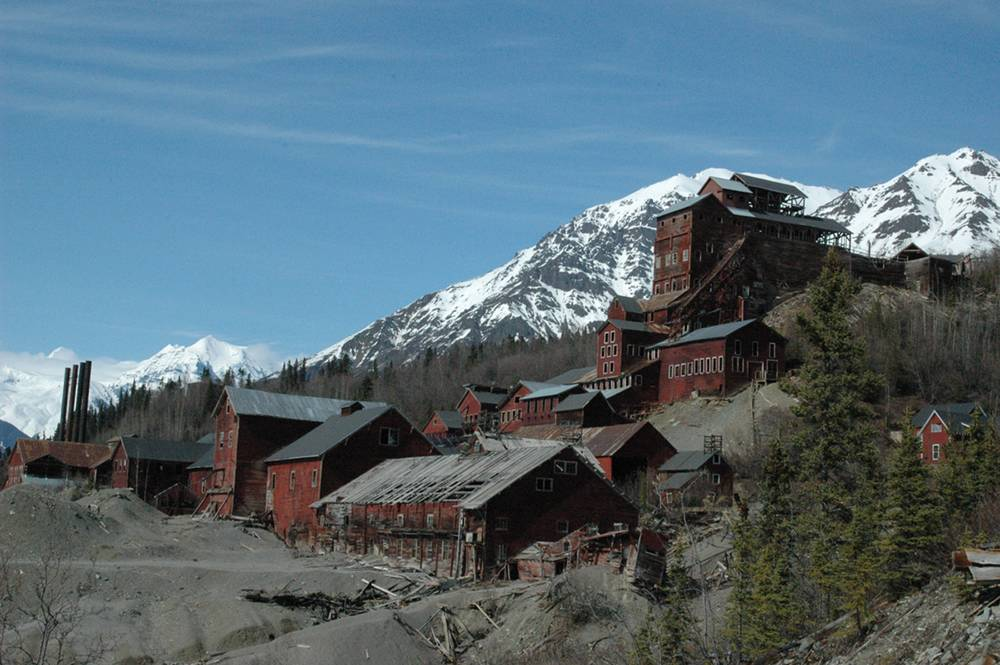 a picture of Kennecott in Alaska