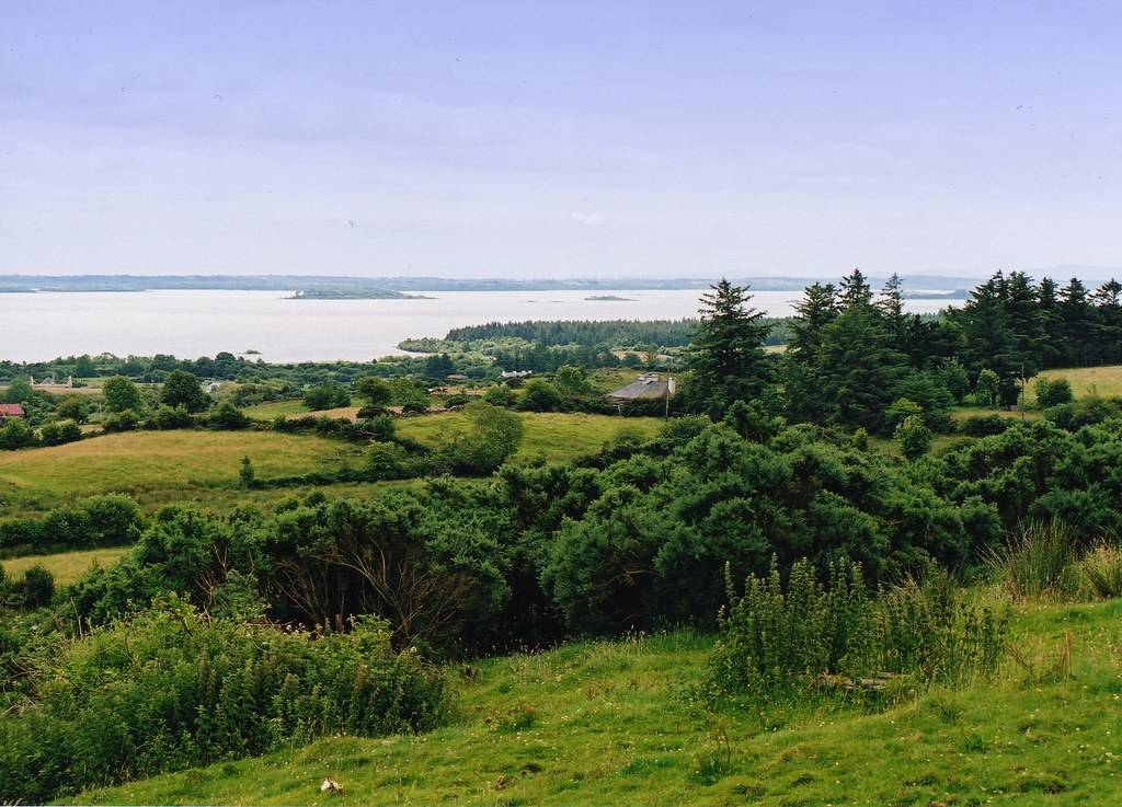 a picture looking out over Lough