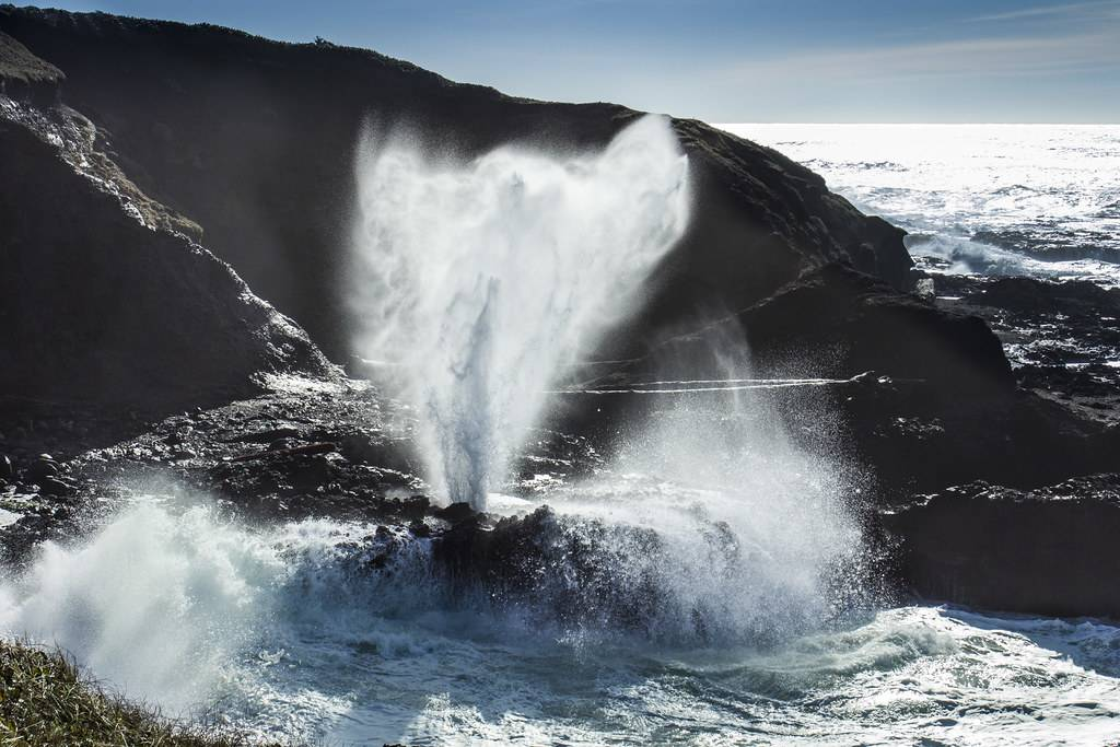 Spouting Horn in Oregon