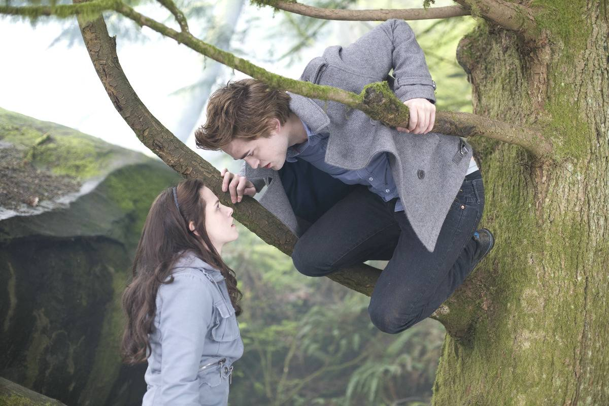 still from twilight of bella and edward