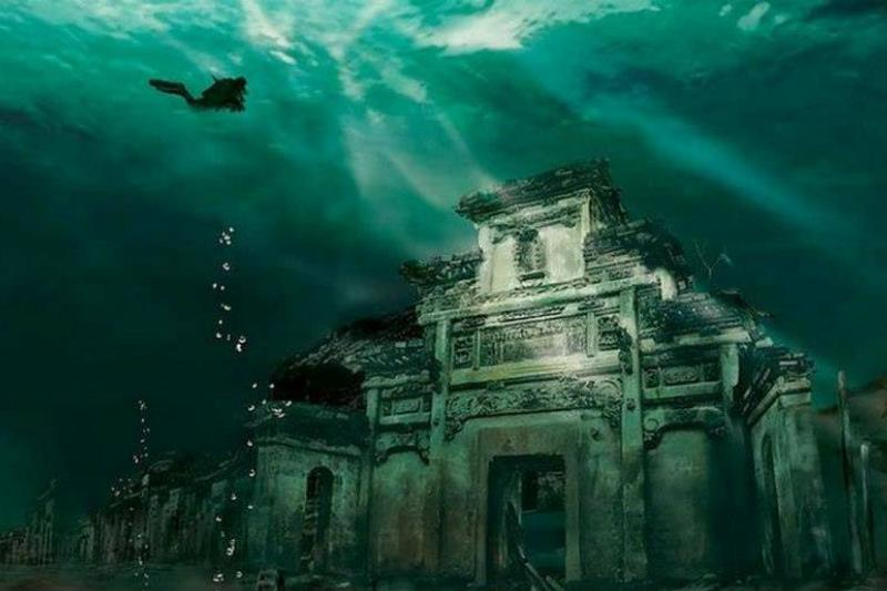 underwater city of Shicheng