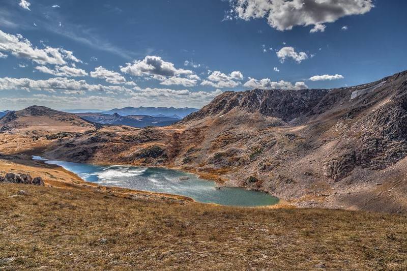 gardner lake shoshone national forest