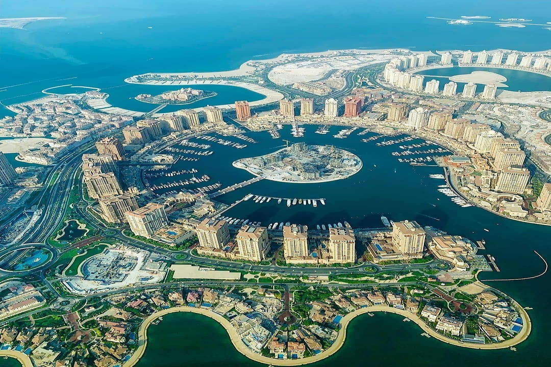the pearl island qatar