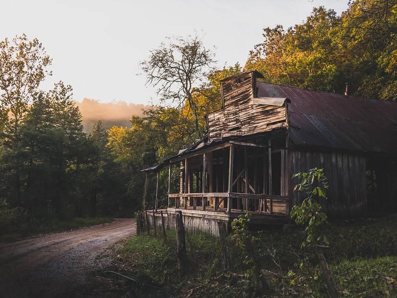 rush ghost town arknasas