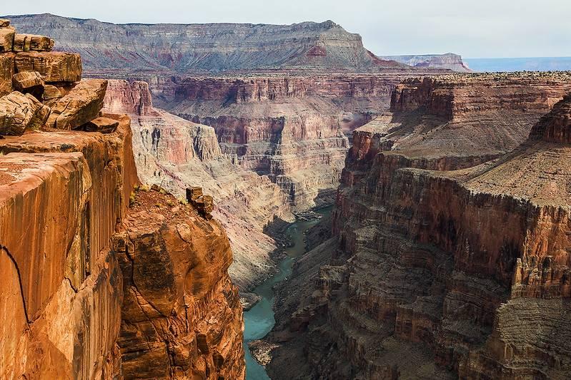 toroweap overlook grand canyon park