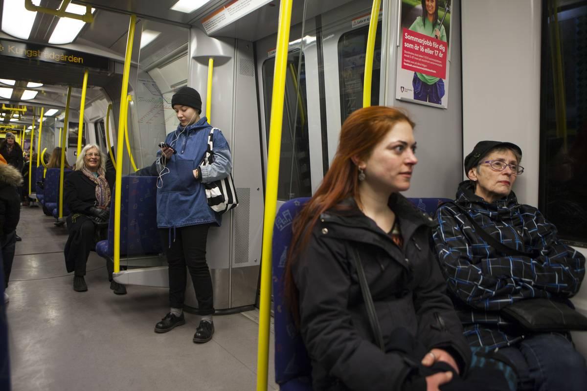 Life in Sweden public transporation