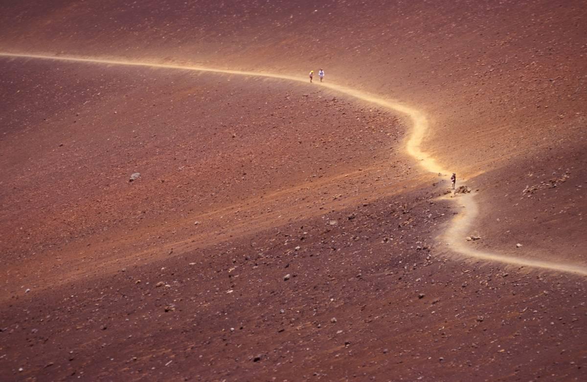 sliding sands trail haleakala national park
