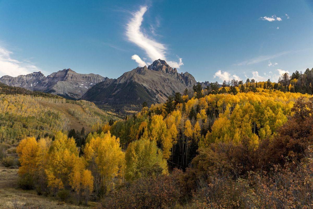 san juan mountains near ridgway colorado