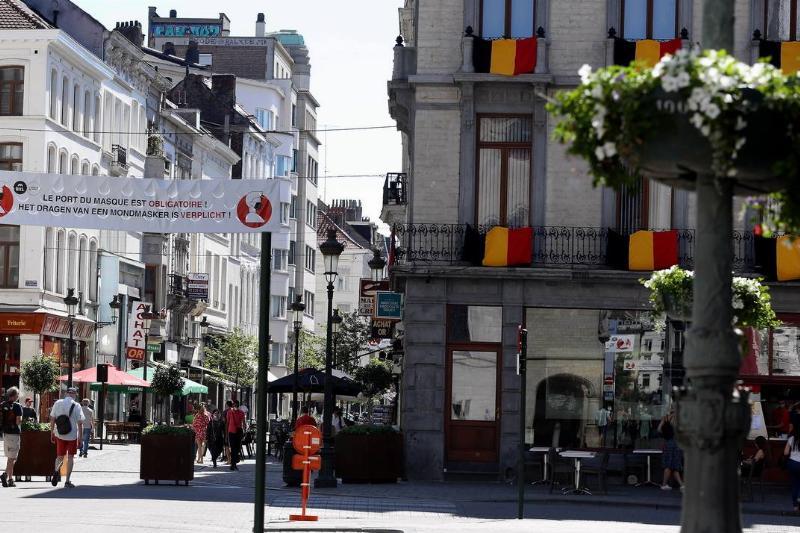 streets of brussels belgium empty