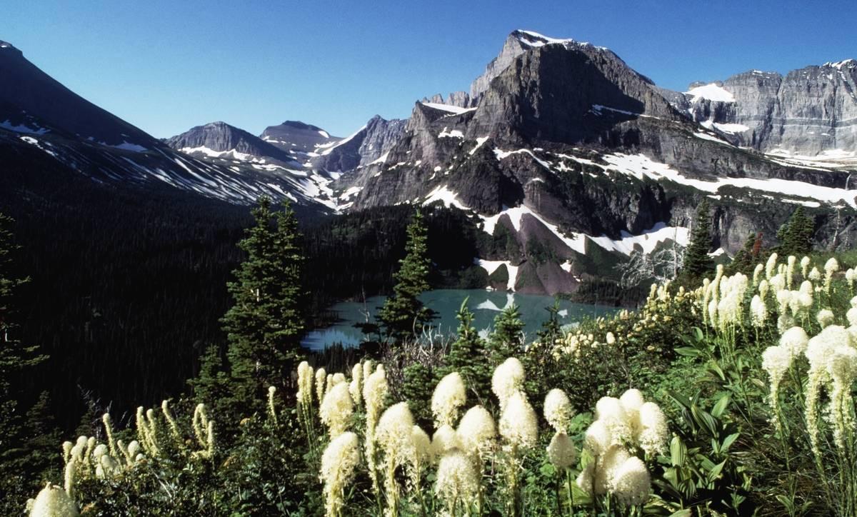 grinnell lake glacier national park montana