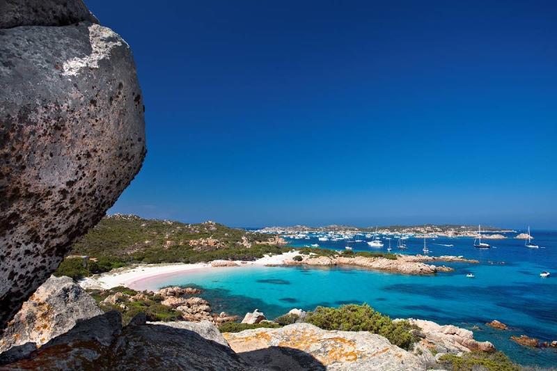Spiaggia Rosa. Isola di Budelli. La Maddalena (OT). Gallura. Sardinia. Italy. Europe.