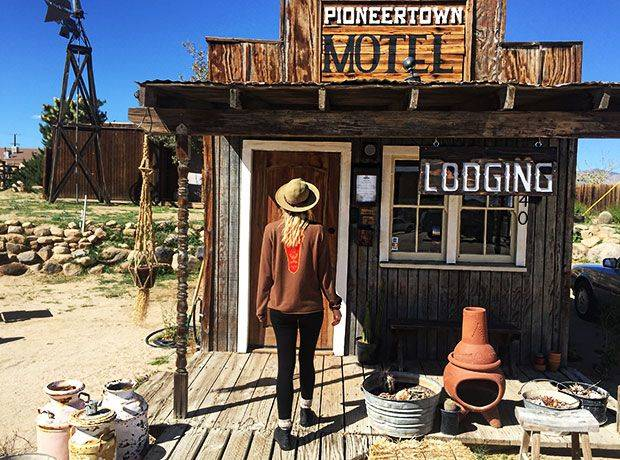 Pioneertown Motel Is Straight Out Of The Wild West