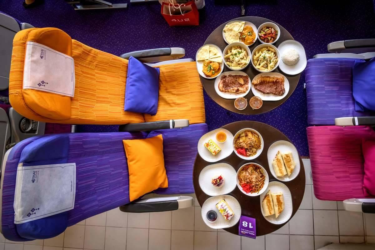 thai airways serving at new restaurant