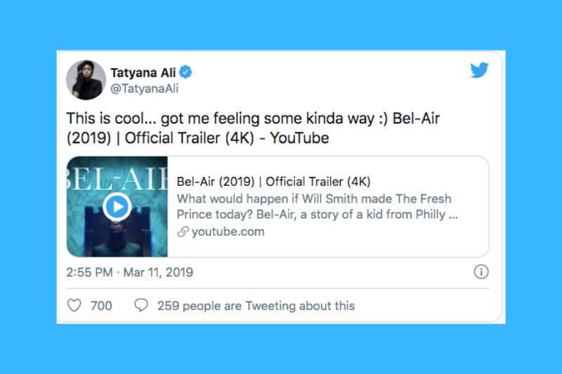 tatyana tweets back trailer