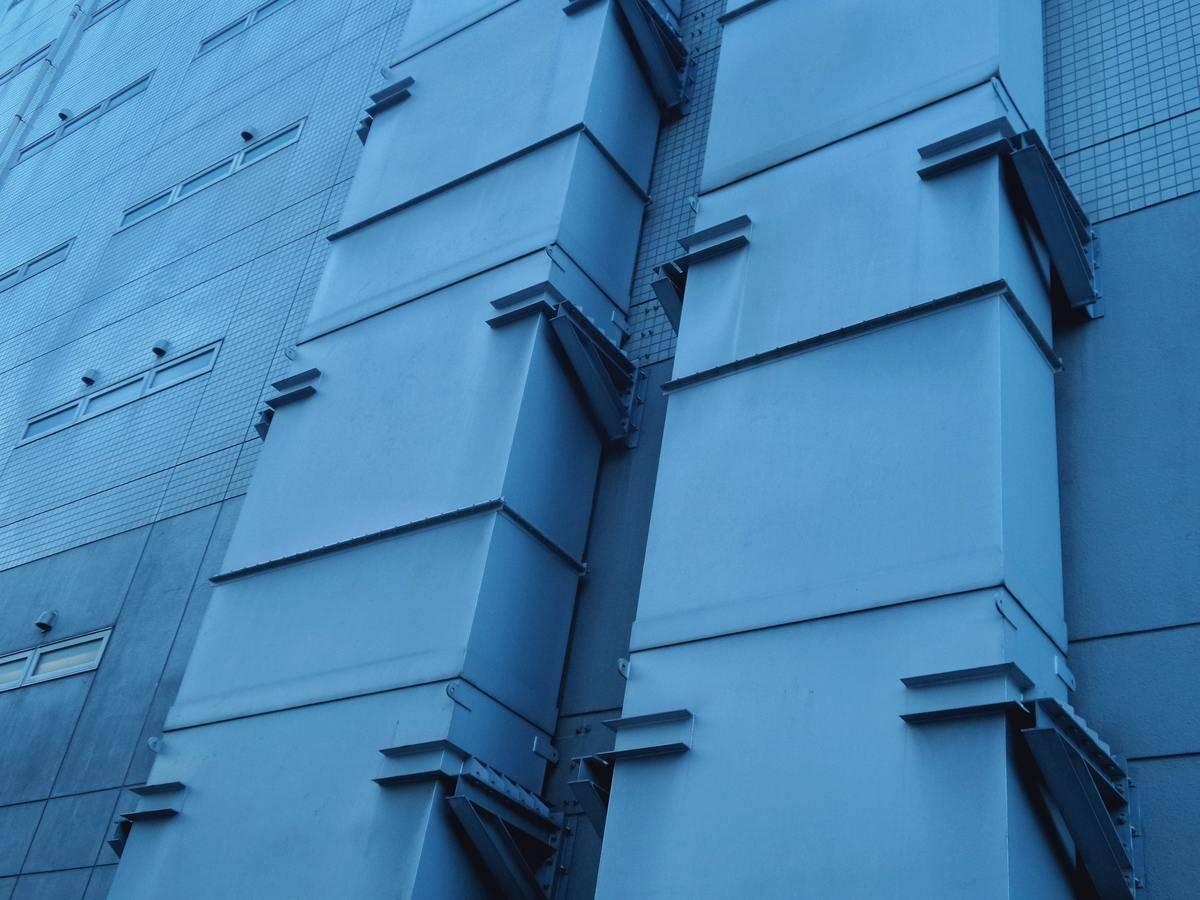 blue ventilation system