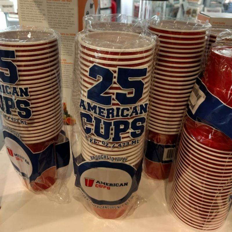 red solo cups called American Cups