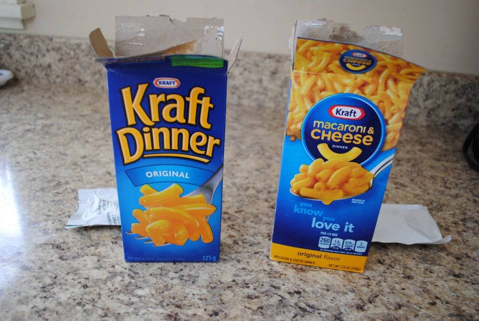 mac and cheese in the states and in Canada