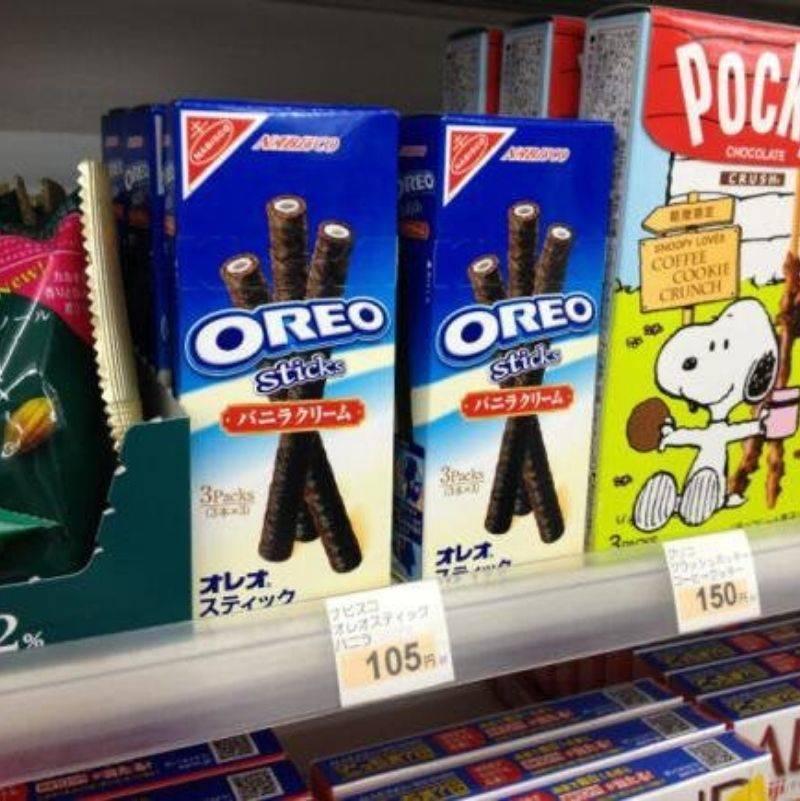 Oreo sticks instead of cookies