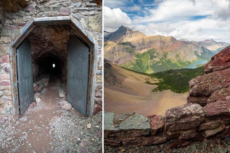ptarmigan tunnel trail glacier national