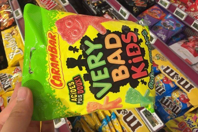 sour patch kids called very bad kids