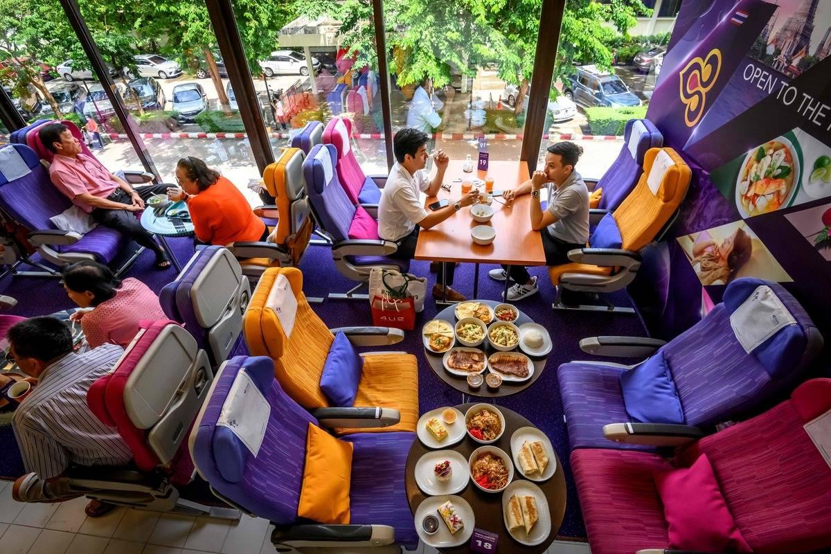 thai airways restaurant bangkok dining