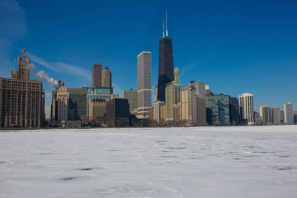 Chicago Endures Record Cold Temperatures
