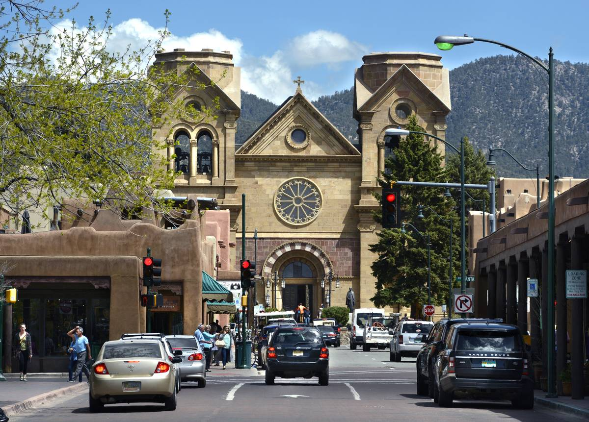 Santa Fe, New Mexico cathedral
