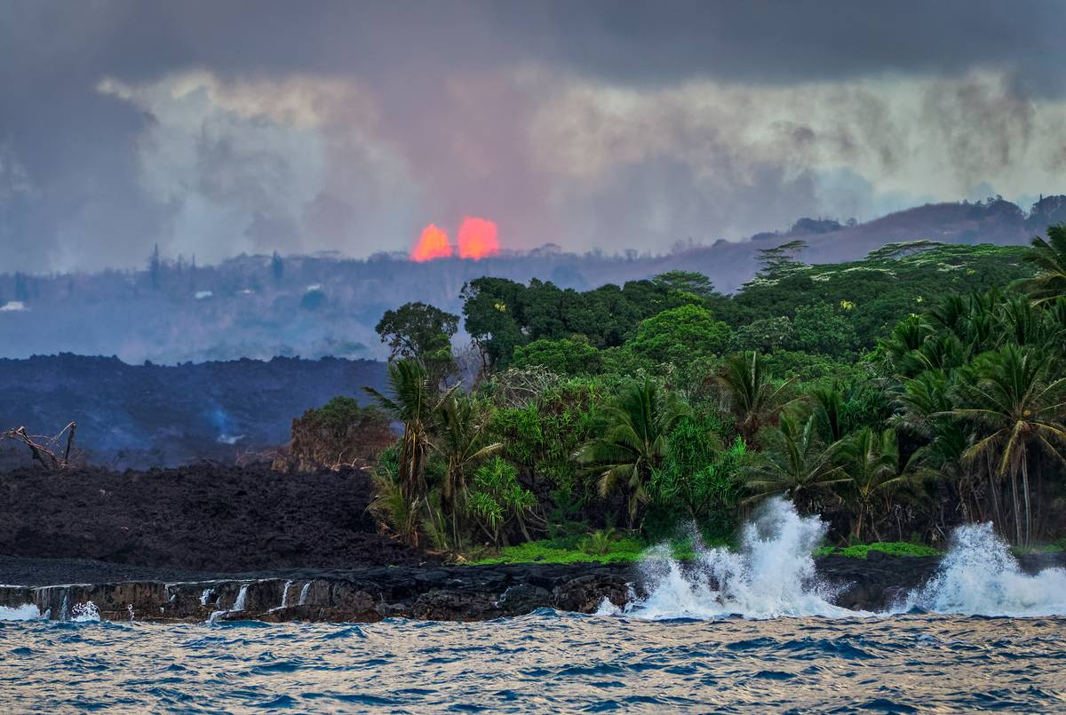 Kilauea Lava Fountains